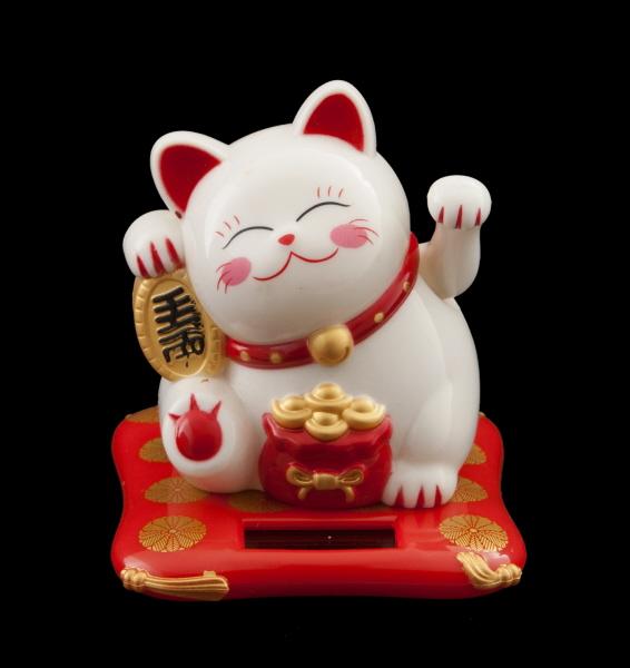 chat porte bonheur chat japonais maneki neko chat porte bonheur manekineko. Black Bedroom Furniture Sets. Home Design Ideas